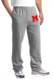 Melrose Football Jerzee Sweatpants w/Melrose Football Logo