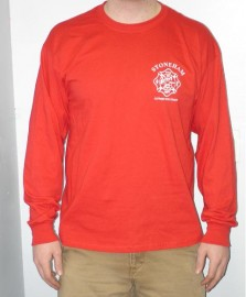 SFD Red Support Our Troops Long Sleeve T-Shirt